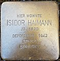 Isidor Haimann, Mayener Straße 28.jpg