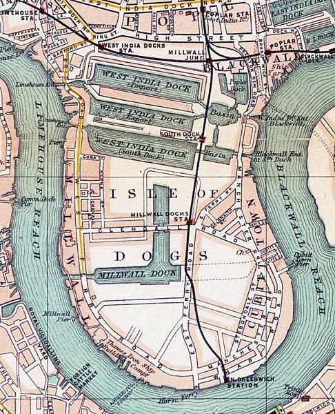 Isle of dogs 1899