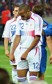 Henry na final da Copa do Mundo em 2006 78f98405a6a9b