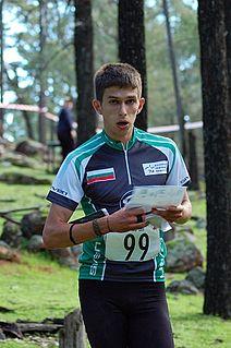 Ivan Sirakov orienteer