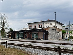 Ivancna Gorica-train station-from east.jpg