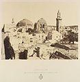 Jérusalem. État actuel du dôme, du St. Sépulcre et Minaret d'Omar MET DP345514.jpg