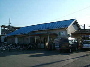 Matsugishi Station - Matsugishi Station in 2006