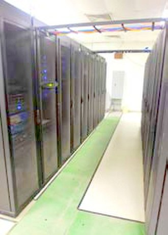 Server farm - This server farm supports the various computer networks of the Joint Task Force Guantanamo