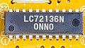 JVC MX-J950R - antenna tuner module - Sanyo LC72136N-3897.jpg