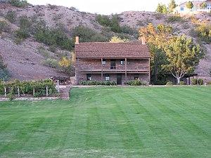 Jacob Hamblin - Hamblin's home in Santa Clara