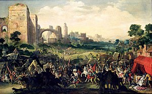 Jacob Isaacsz. van Swanenburg - The siege of Bethulia