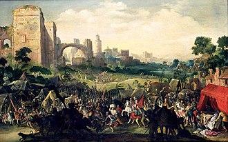 Jacob Isaacsz. van Swanenburg - The siege of Bethulia