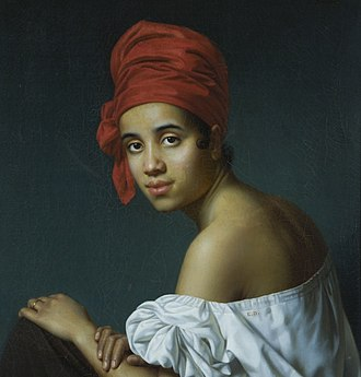 Jacques Amans - Image: Jacques Aman Creole in a Red Turban