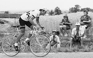 Jacques Esclassan bei der Tour de France 1976