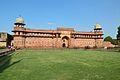 Jahangiri Mahal - Western Facade - Agra Fort - Agra 2014-05-14 4069.JPG