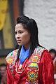 Jakar tshechu, Dzongkhag dancer (15221823714).jpg