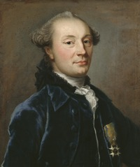 Portrait of Jakob Magnus Sprengtporten, 1727-1786