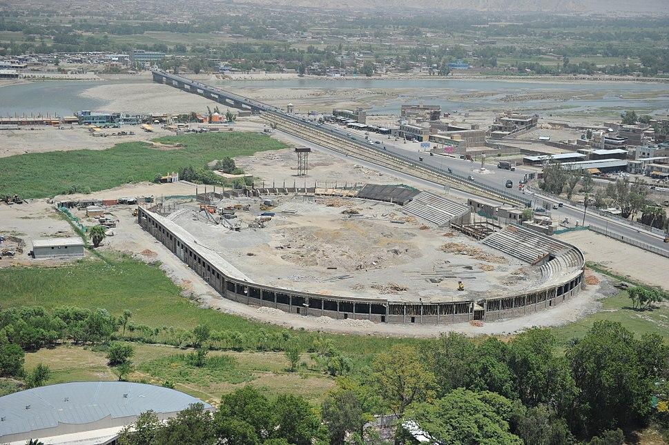 Jalalabad stadium in June 2011