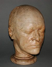 James S De Ville 1776-1846 Head of William Blake - Plaster cast - Sept 1823 Fitzwilliam Museum.jpg