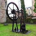 James Watt model water pump, Greenock Museum, Renfrewshire.jpg