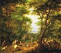 Jan Brueghel de Oude. - Herten jagen in het bos.jpg