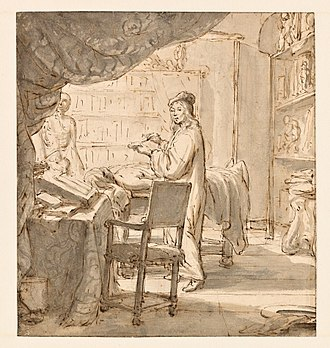 Jan Verkolje - The Anatomist at work