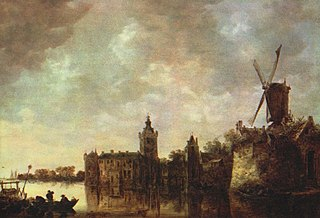 View of Castle Montfoort