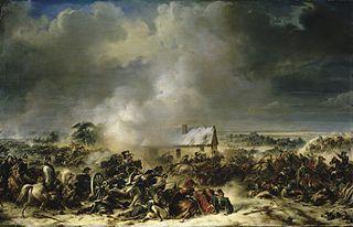 Bataille de Hoff, 6 février 1807