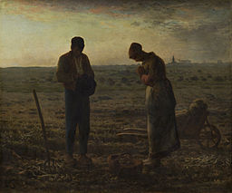 Jean-François Millet - The Angelus - Google Art Project