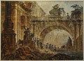 Jean Henri Alexandre Pernet - Palais en ruines.jpg