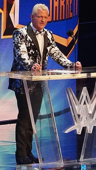 WWE Hall of Fame (2018) - Image: Jeff Jarrett WWE Ho F 2018 crop
