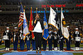 Jennifer Hudson sings national anthem at Super Bowl 43.jpg