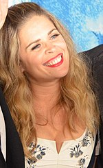 A photo of Jennifer Lee at the world premiere of Frozen in 2013.