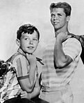 Jerry Mathers Tony Dow Leave It to Beaver 1961.JPG