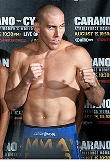 Jesse Taylor American mixed martial arts fighter