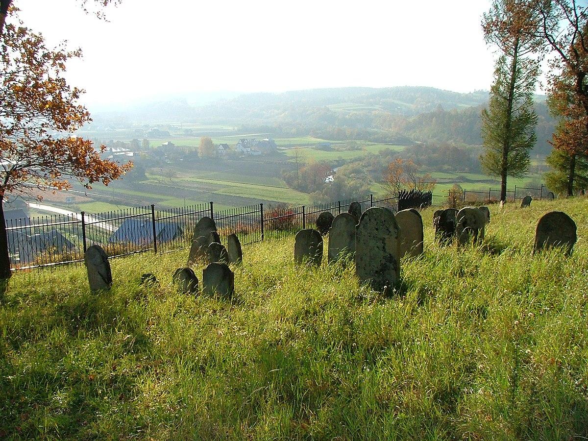 Jewish cemetery in Bobowa12.jpg