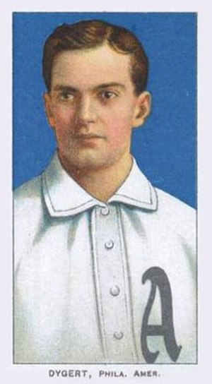 Jimmy Dygert - Image: Jimmy Dygert T206 baseball card