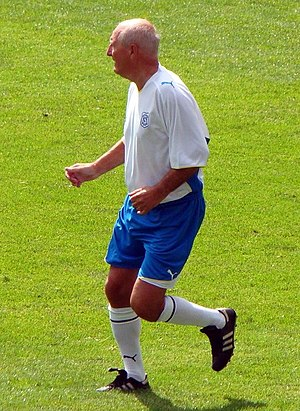 Jimmy Goodfellow - Goodfellow playing for Cardiff City Legends in July 2009.
