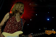 Joanna Bolme of Stephen Malkmus and the Jicks - Constellations Festival, Leeds 2011.jpg