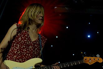 Joanna Bolme - Joanna Bolme performing with Stephen Malkmus and the Jicks in 2011