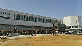 Jōetsumyōkō Station Railway station in Jōetsu, Niigata Prefecture, Japan