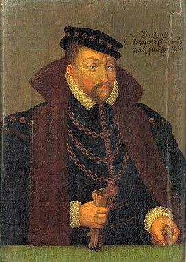 Johann Kasimir, Pfalz, Pfalzgraf
