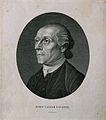 Johann Caspar Lavater. Line engraving by Rhodes, 1792. Wellcome V0003402.jpg