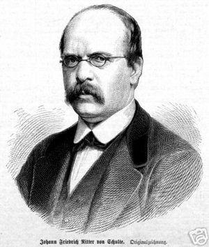 Johann Friedrich von Schulte - Johann Friedrich von Schulte (1827-1914)