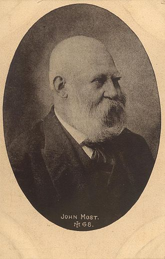 Johann Most - Most in his later years