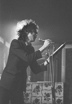 John Cooper Clarke - Performing in Cardiff, 1979