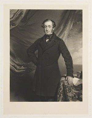 John Abel Smith - John Abel Smith by William Overend Geller, after Frederick Richard Say.