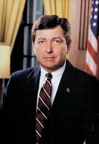 John Ashcroft - Ashcroft's official portrait as governor.