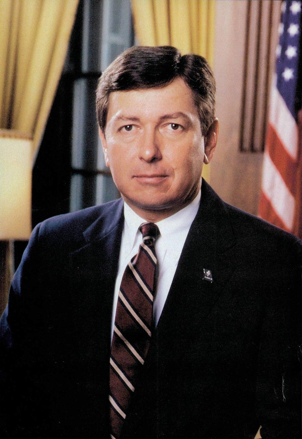 John Ashcroft official photo as Governor