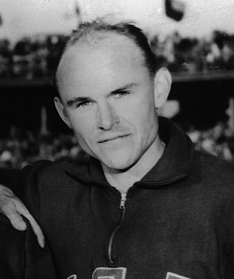 John Bennett (athlete) - John Bennett in 1956