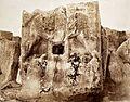 John Henry Haynes. Bas relief; two lions at Kosh Nishan Ighneri, Phrygia (id.13993426).jpg