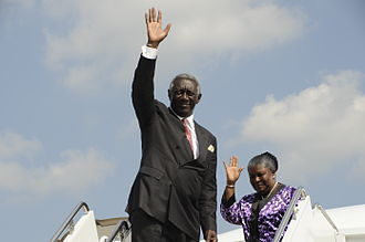 John Kufuor - John and Theresa Kufuor (2008)