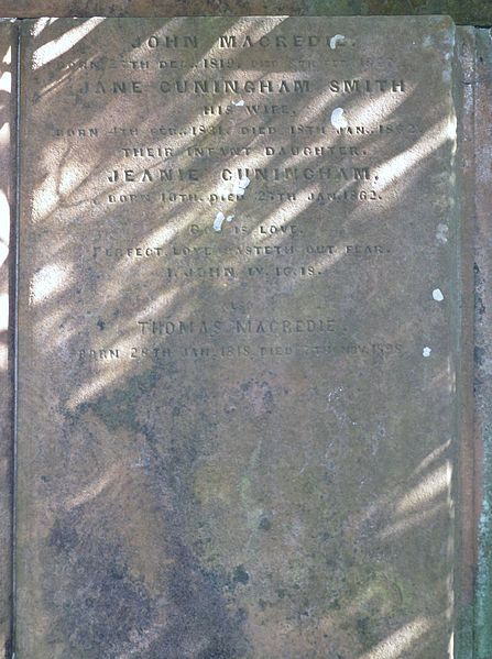 File:John Macredie and Jane Cuningham Smith, Perceton, Ayrshire.JPG