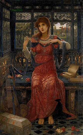 The Princess (Tennyson poem) - Image: John Melhuish Strudwick 17